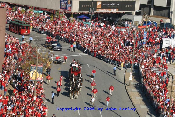 Parade Of Champions St Louis Cardinals 2006 World Series